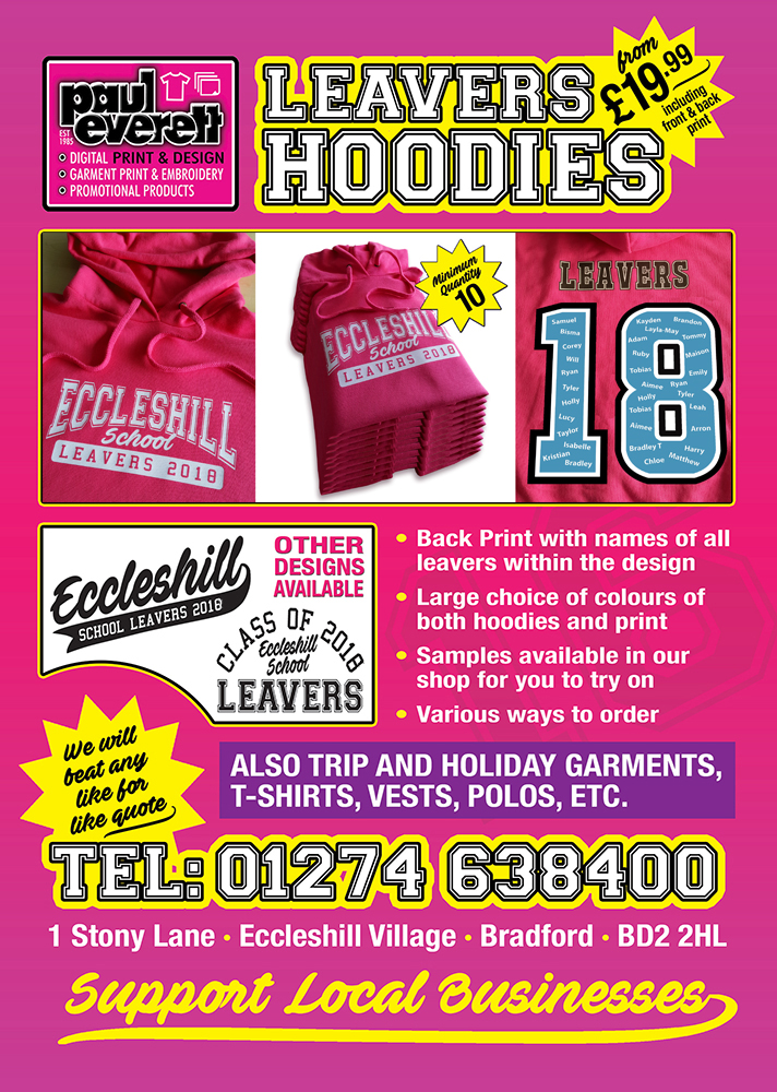 leavers hoodies bradford